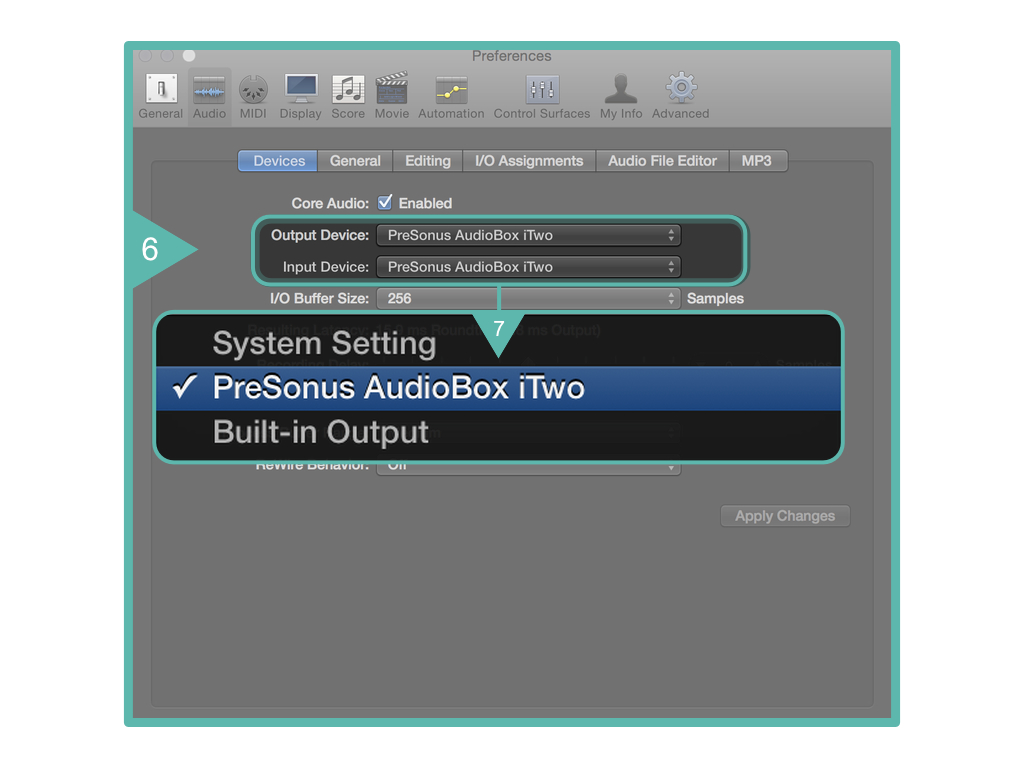 Logic Pro X Audio Interface Setup67