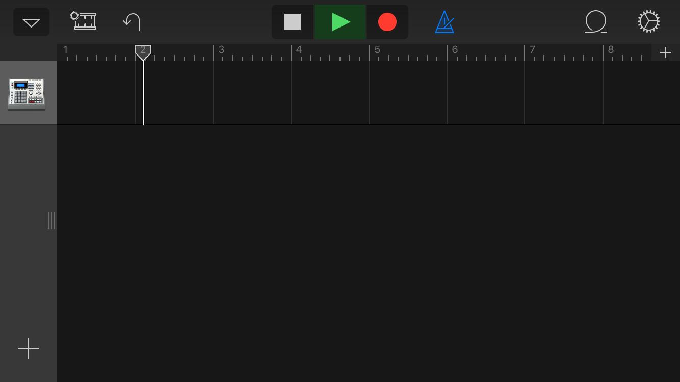 不但可以對節拍器還可以同時錄音,想要改變拍速的話還可以點擊右上角的齒輪圖示來調整速度。
