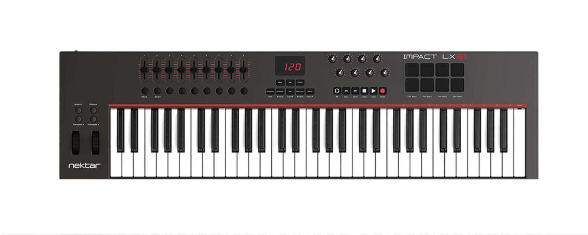 Lx 61MIDI keyboard