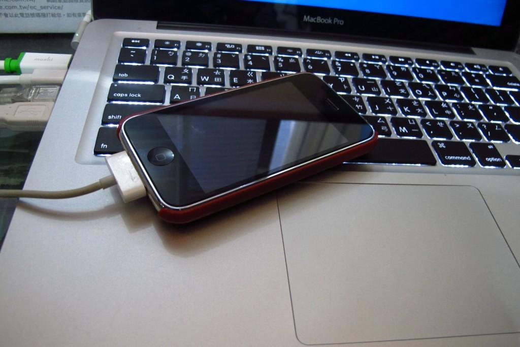 接上iphone