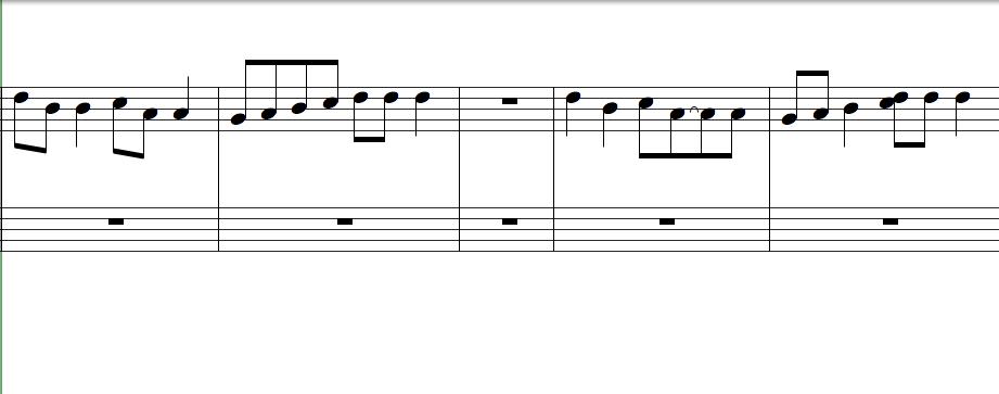 五線譜-拍子變化
