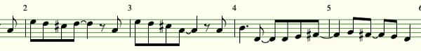 Melody and chord01