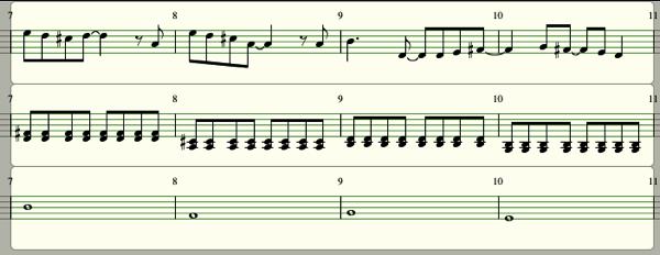 Melody and chord03
