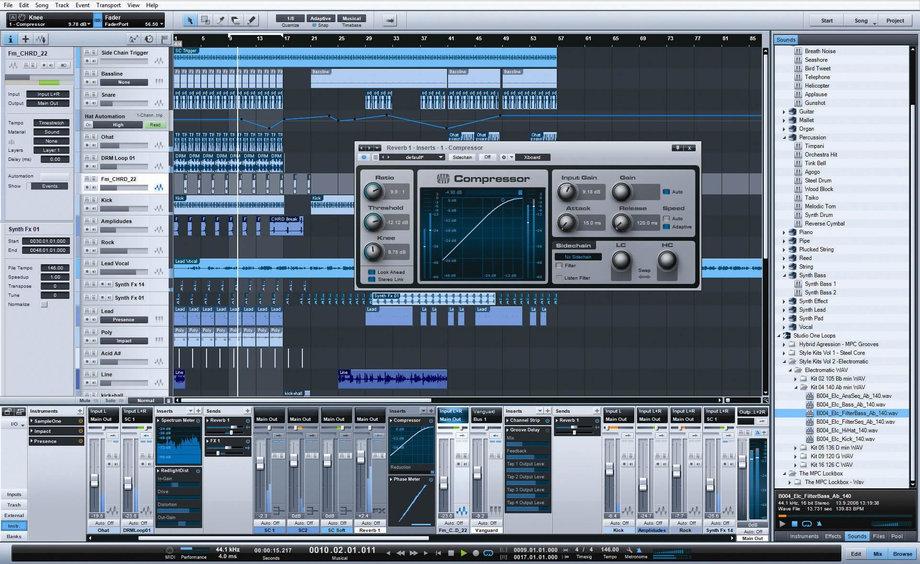 Free DAW soft studio one