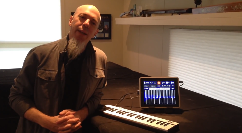 Jordan Rudess plays iRig KEYS
