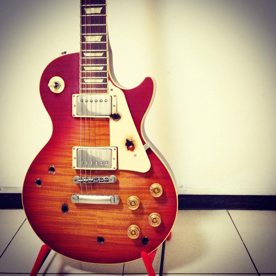 Beck 樂團 經典 露西路吉他
