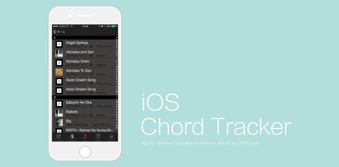 點擊在下方的選單則可以依造你想要的分類方式,來找尋你想抓取和弦進行的歌曲。