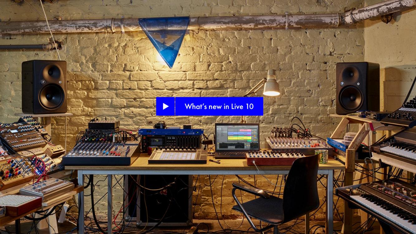 最新版本的 Ableton Live 10 已於 2018 中推出,新增了許多令人興奮的全新功能。