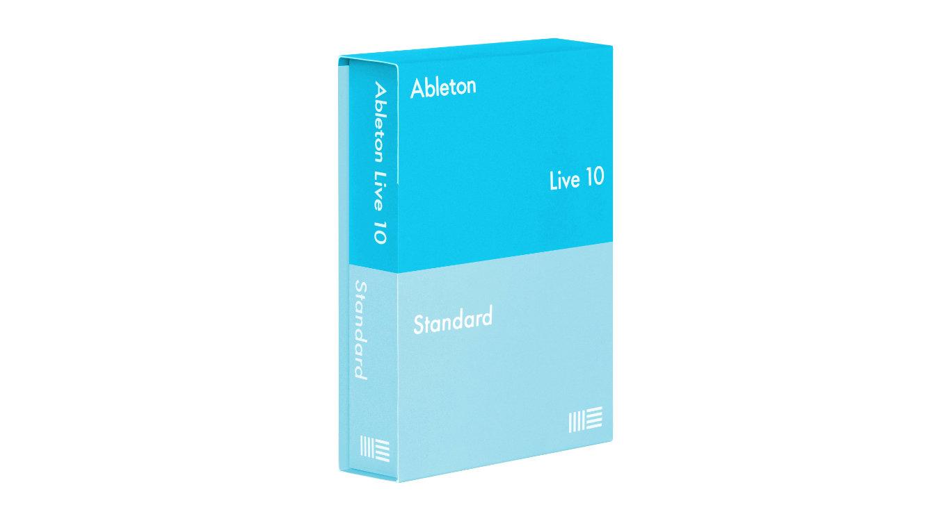 Ableton Live 10 Standard : 內容僅次於 Suite 素材與軟體音色較少。