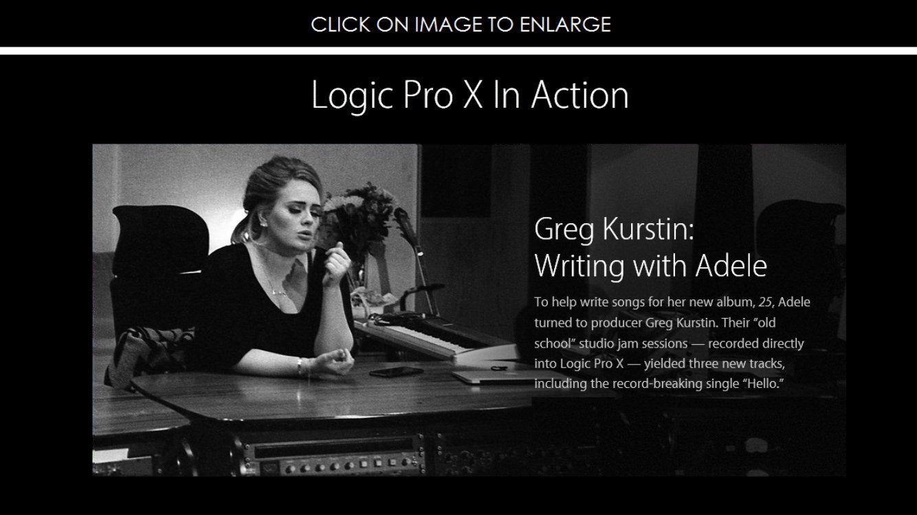 你很難想像有多少音樂人在使用 Logic Pro !