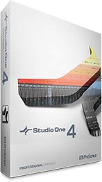 與專業音樂人相同規格的完整版 Studio One 4