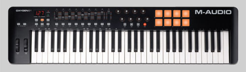 M Audio Oxygen 61 MIDI Keyboard Controller