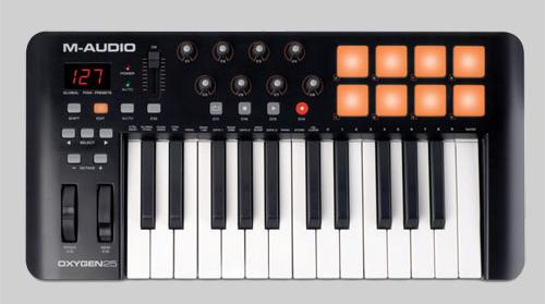 M Audio Oxygen 25 MIDI Keyboard Controller