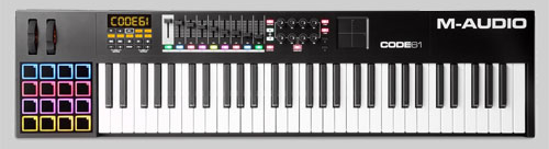 M Audio Code 49 MIDI Keyboard Controller