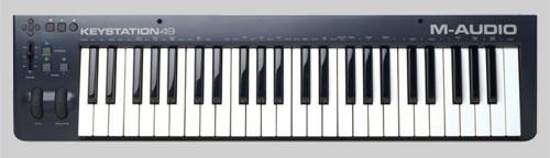 M Audio Keystation 49 Keyboard Controller