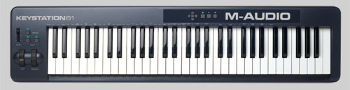 M Audio Keystation 61 Keyboard Controller
