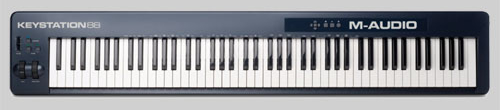 M Audio Keystation 88 Keyboard Controller