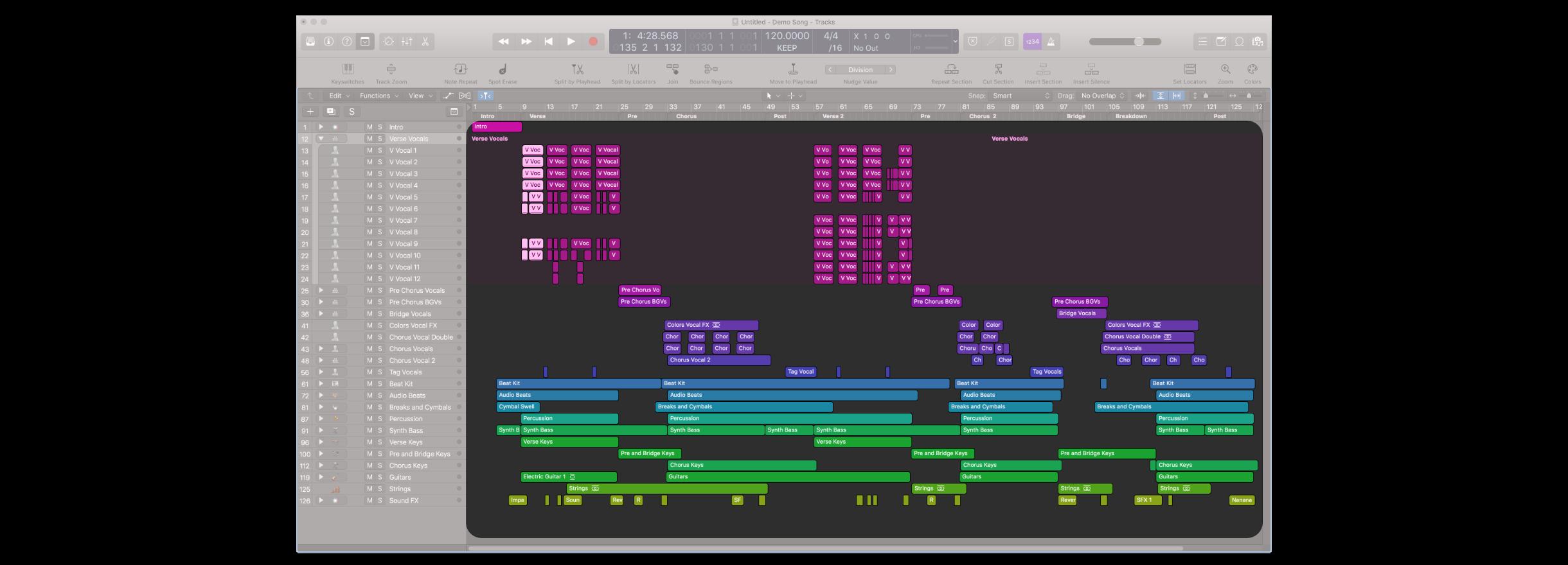 想要在 Logic Pro 中製作音樂,除了主要編曲視窗以外,還有很多其他不同的視窗是需要我們去了解的。