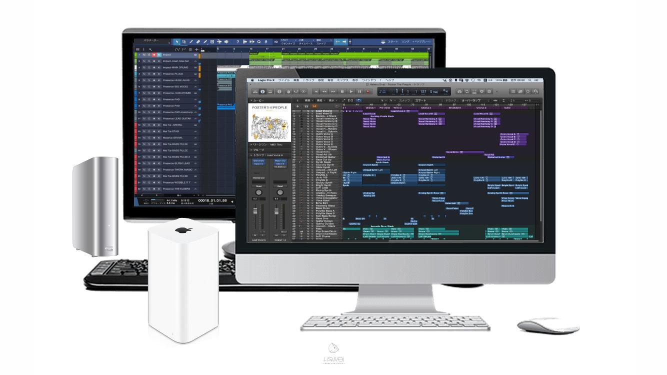 關於電腦的選擇到底要選 蘋果電腦 ( MAC )還是 微軟 ( WINDOWS ) 就看你的需求和預算到哪裡了。(當然這也會影響到你將來可以使用什麼樣的 DAW 軟體 )