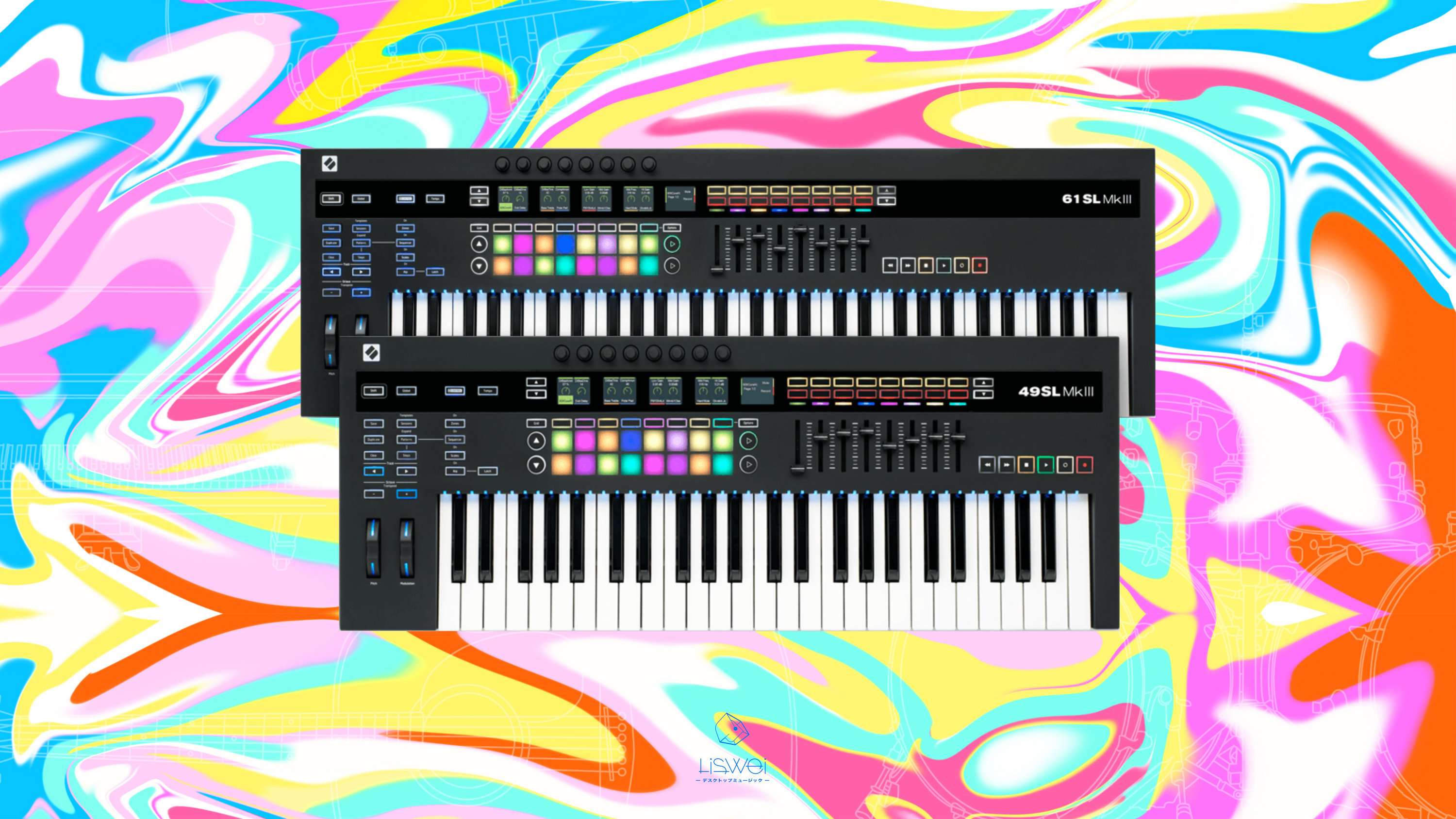 Novation SLMKIII 控制鍵盤