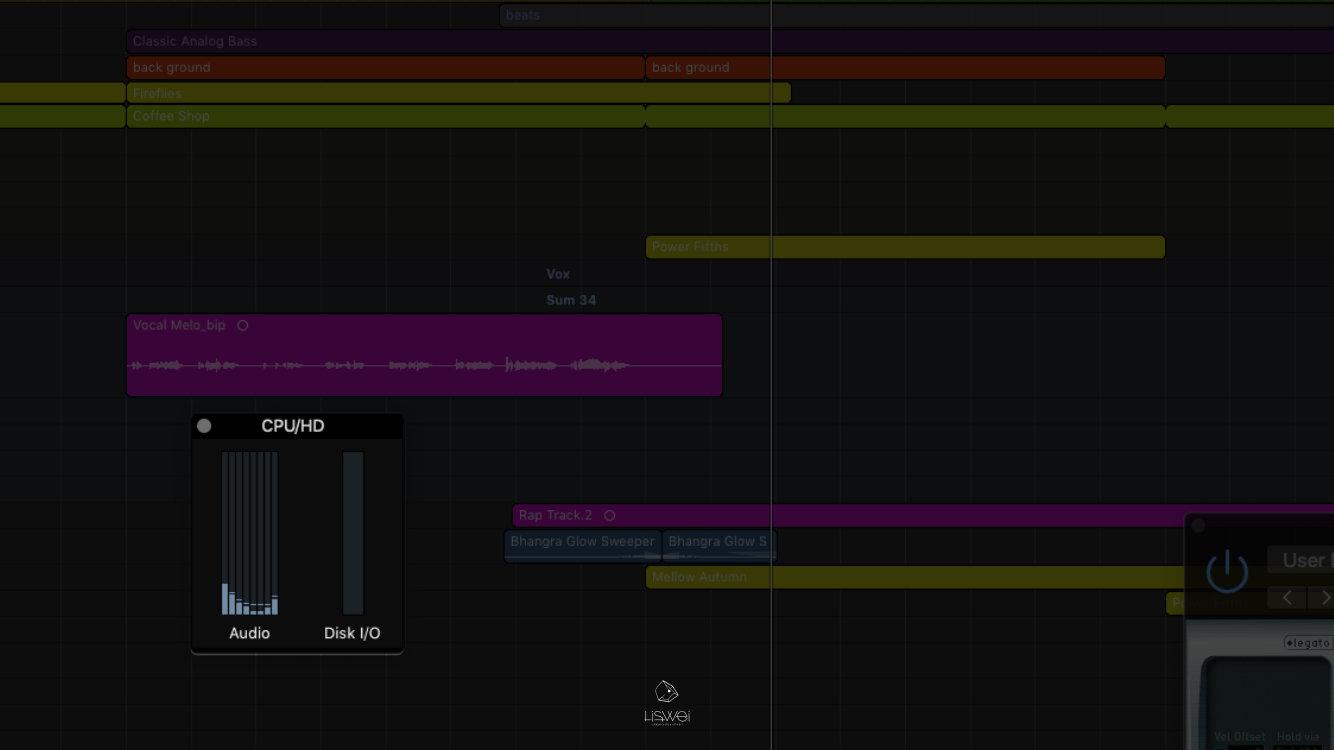 當你的電腦在編曲混音的時候,其實需要即時運算很多事情,更多的 CPU 可以幫助你偷懶不須經常 Bounce in place,但也不是無敵的。