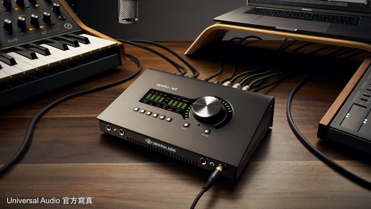 new apollo audio interface