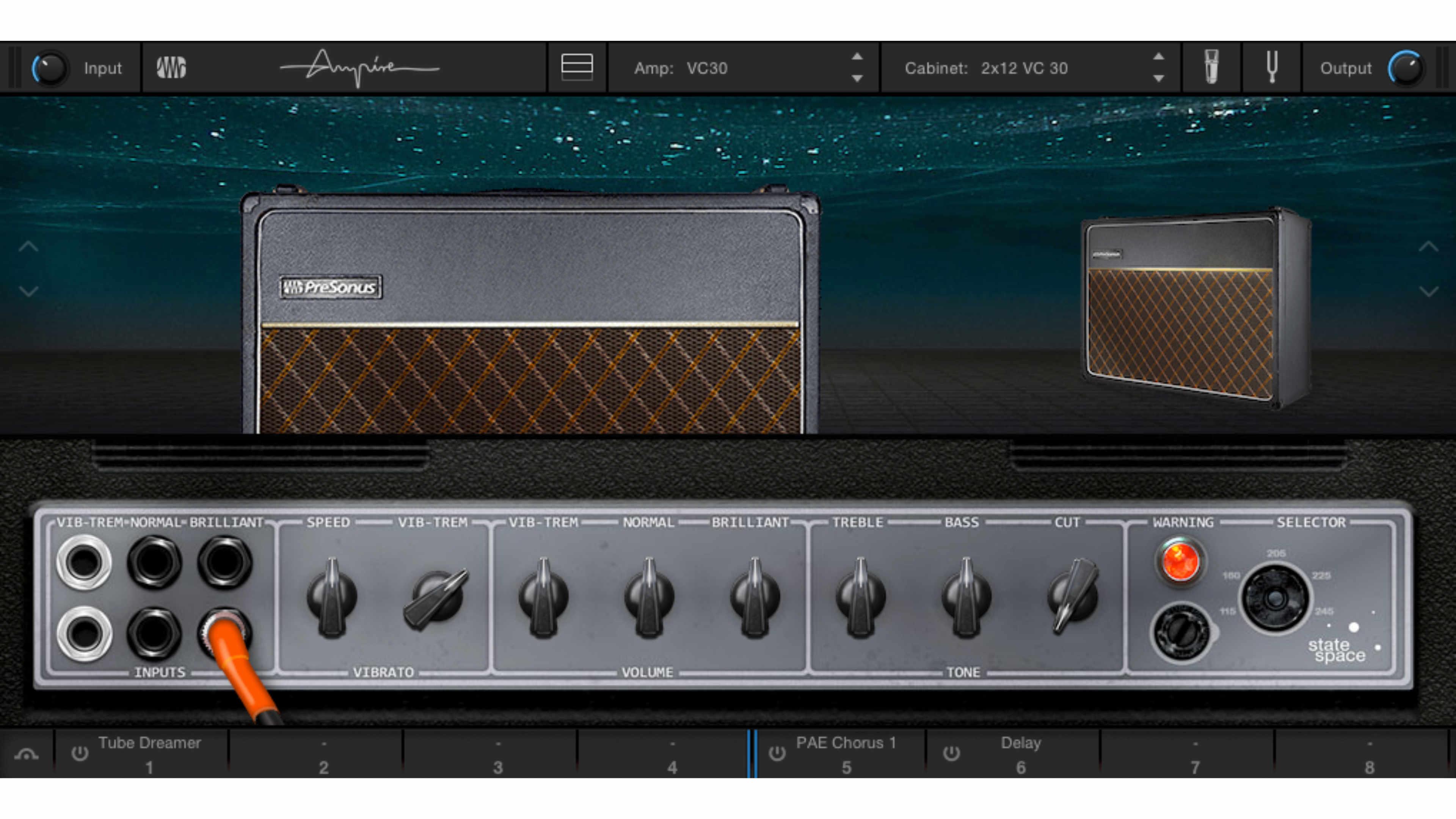 新版的 Ampire 介面提供了更精緻的音色與外觀