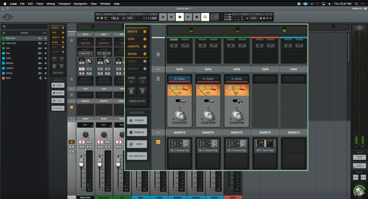 多軌同時 盤帶錄音 即時模擬
